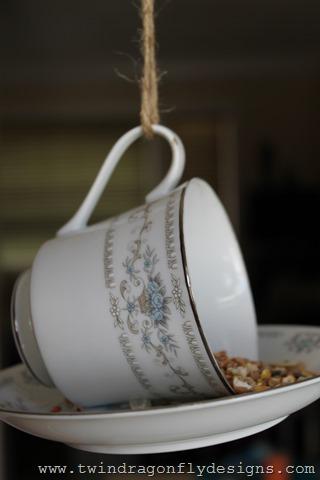 Teacup Bird Feeder (4)