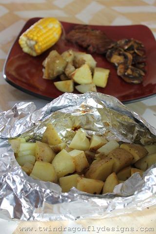 Tin Foil Packet Potatoes (8)