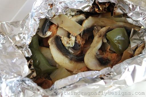 Tinfoil Packet Butter Chicken (10)