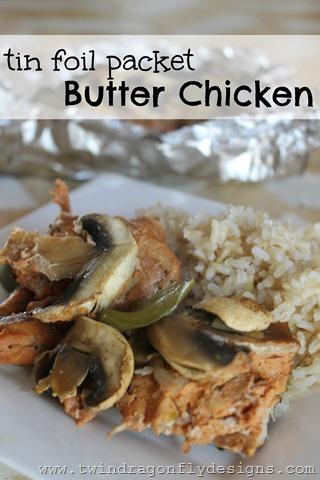 Tinfoil Packet Butter Chicken