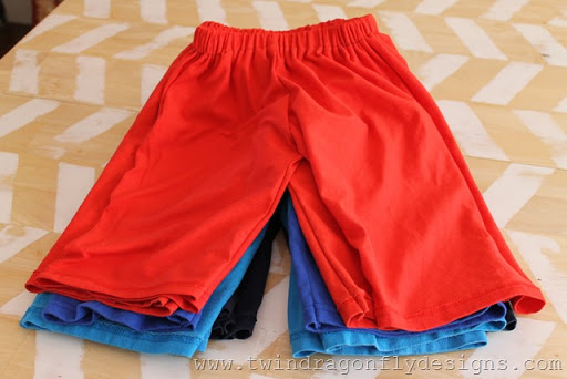 Upcycled Jersey Shorts (1)