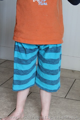 Upcycled Jersey Shorts