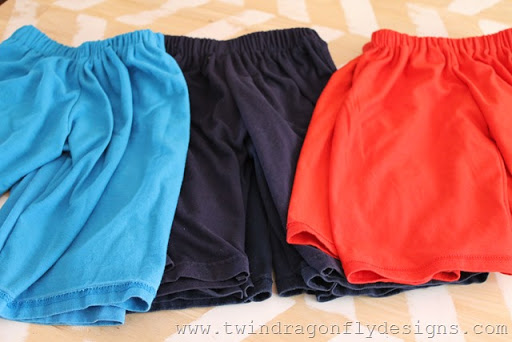 Upcycled Jersey Anywhere Shorts