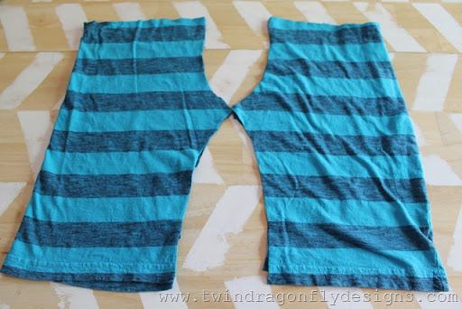 Upcycled Jersey Shorts (5)