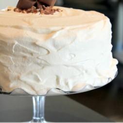 Caramilk Cake
