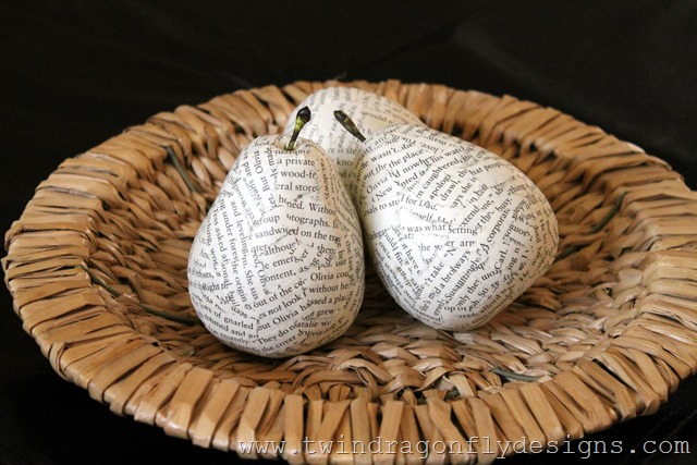 Decoupage Pears