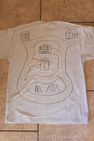 Father's Day Activity T-shirt (5)