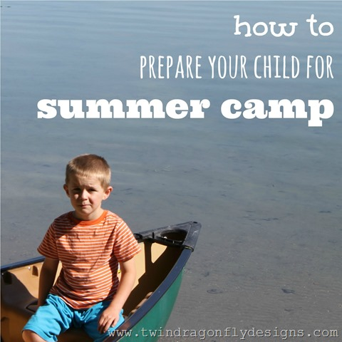 prepare your child for summer camp