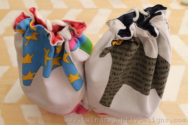 Camping Toiletries Bag Tutorial