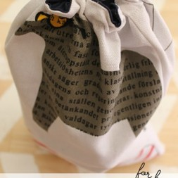 Camping Toiletries Bag Tutorial