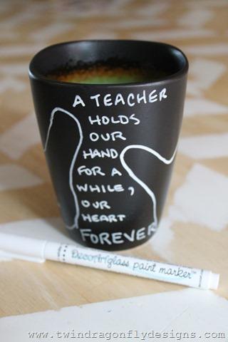DIY Teacher Appreciation Mug