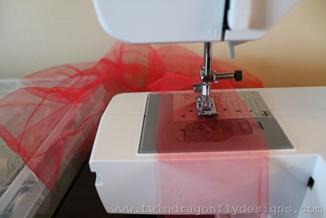 Tulle Ruffle Shorts Tutorial