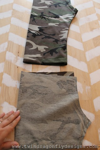 Camo Capri Tutorial