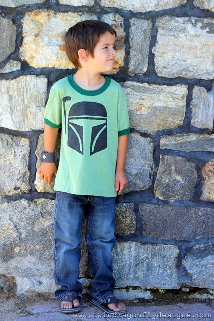 DIY Boba Fett T-shirt ~ What We Wore Wednesday