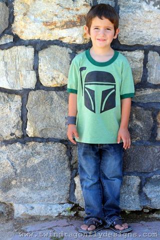 Star Wars Freezer Paper Stencilled T-shirt Tutorial