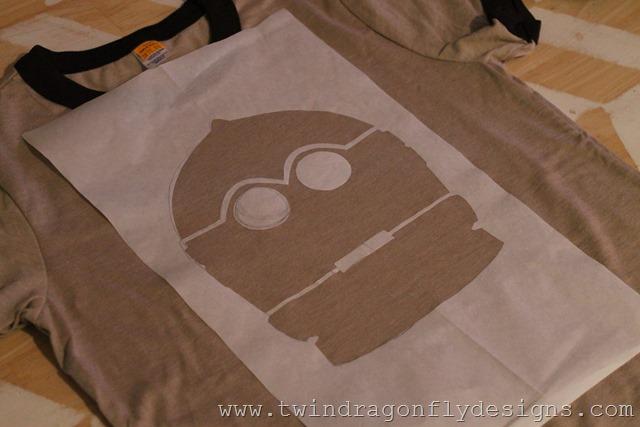 Star Wars Freezer Paper Stencilled T-shirt (6)