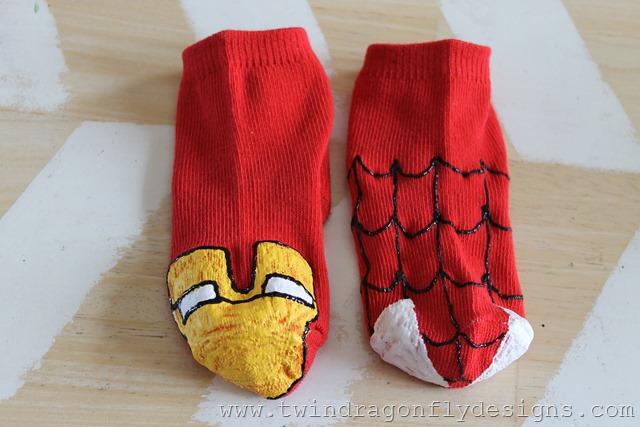 Super Hero Sock Puppet (14)