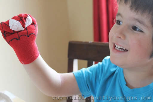 Super Hero Sock Puppet (16)