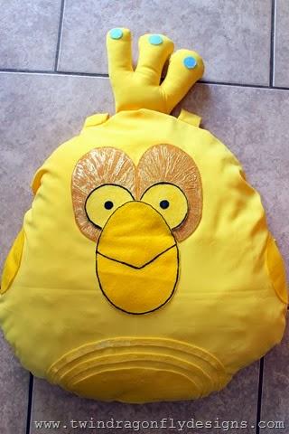 Angry Bird Star Wars C3PO Costume (1)