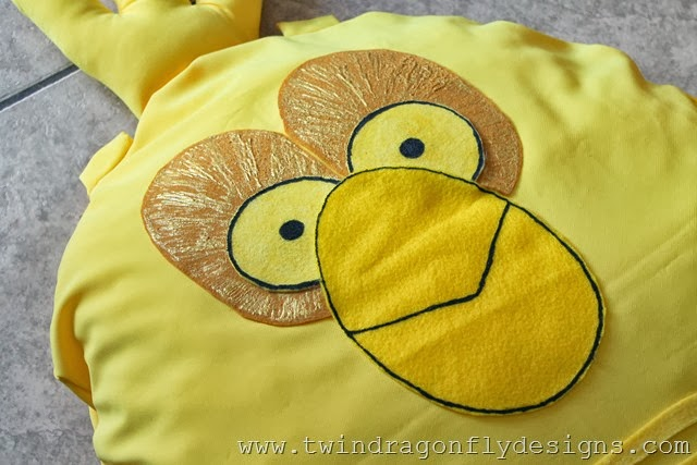 Angry Bird Star Wars C3PO Costume (4)