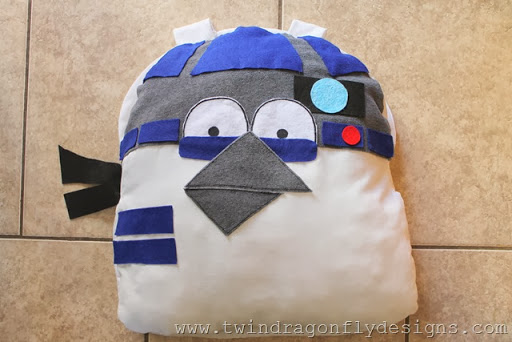 Angry Bird Star Wars R2D2 Costume (1)