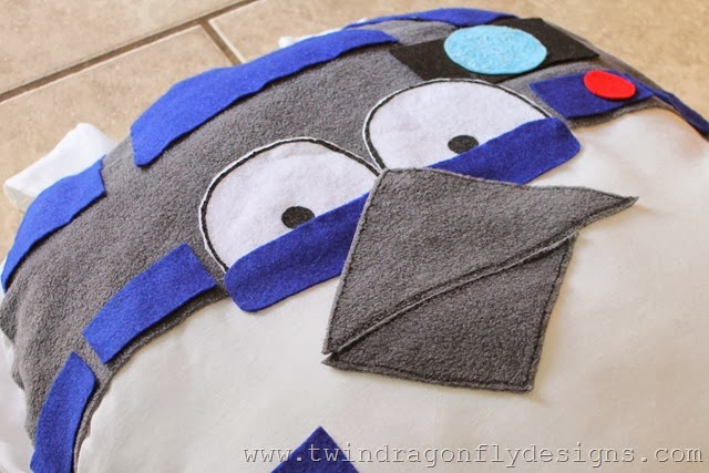 Angry Bird Star Wars R2D2 Costume (5)