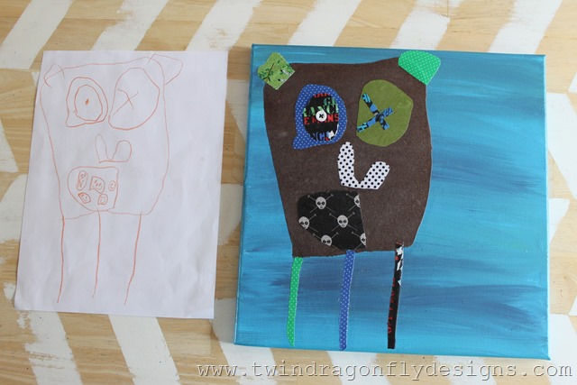 Custom Art from your child's drawing