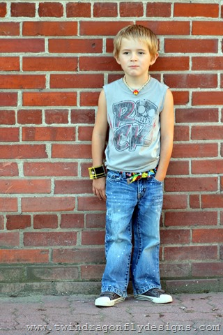 Upcycled Tank Top ~ What We Wore Wednesday