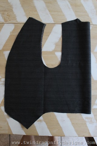 Reversible Superhero Vest Tutorial