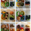 Six Sandwich Free Bento Lunches