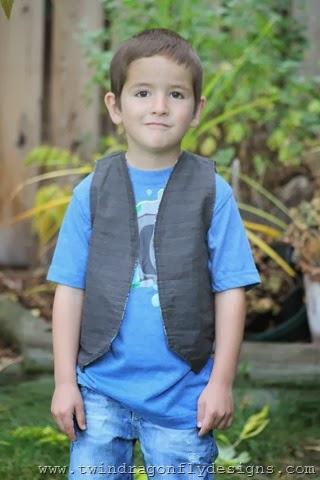 Little Boy Vest ~ What We Wore Wednesday