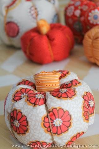 Fabric Pumpkin (12)