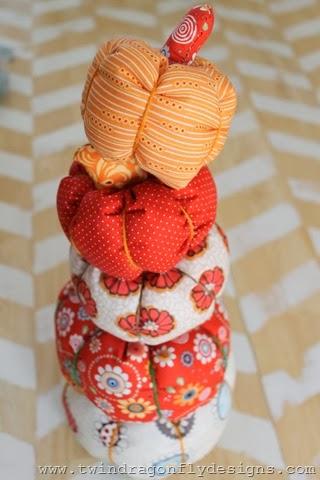 Fabric Pumpkin (16)