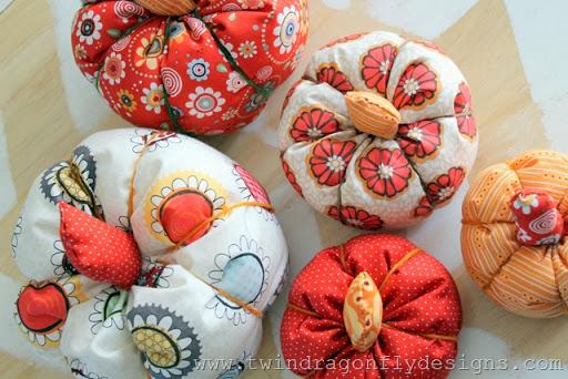 Fabric Pumpkin (3)