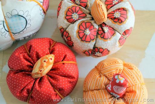 Fabric Pumpkin (6)