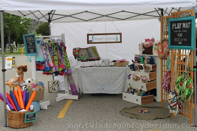 Craft Fair and Market Tips ~ Our Display