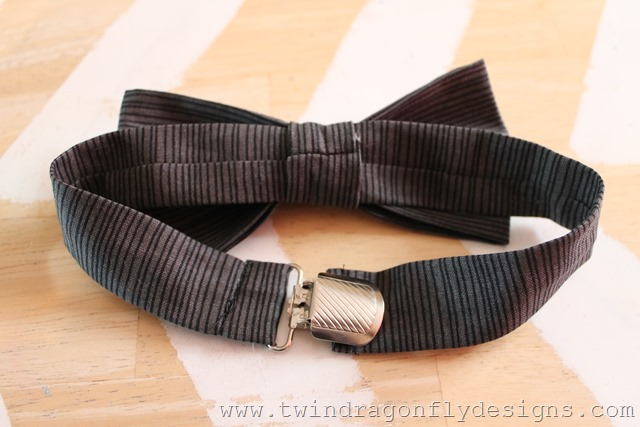 Adjustable Bow Tie Tutorial