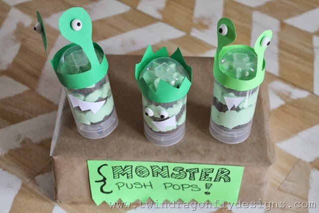 Monster Push Pops