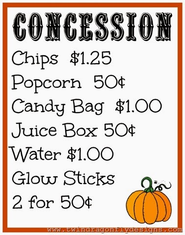 Fall Fair School Fundraiser ~ Free Printables