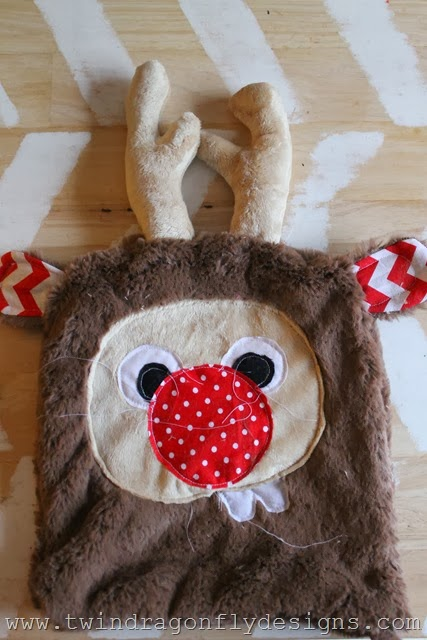 Holiday Plush Reindeer