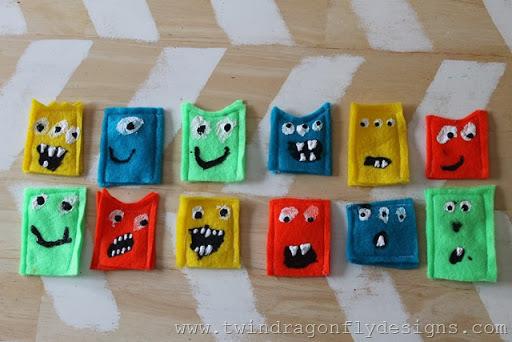 Monster Finger Puppets (2)