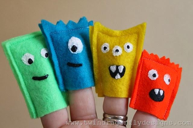 Monster Finger Puppets (27)
