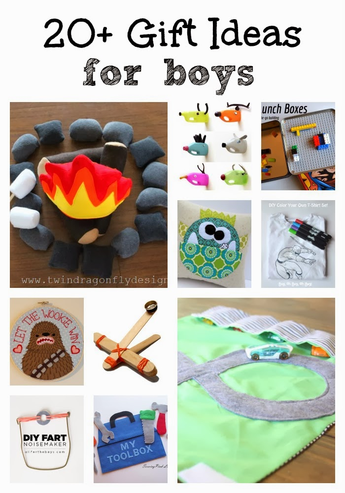 20 diy gift ideas for boys dragonfly designs for Easy diy gifts for boys