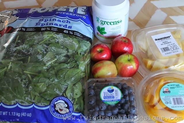 Spinach Smoothie Recipe (1)