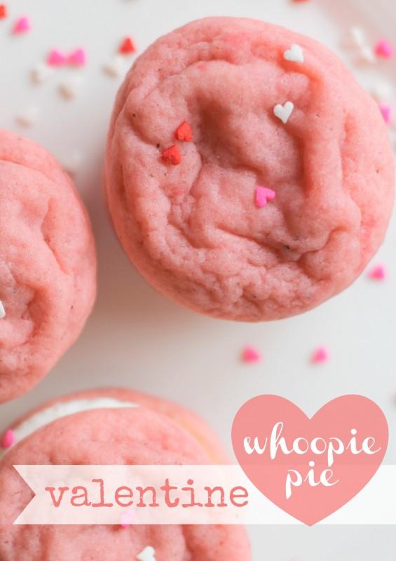 Valentine Whoopie Pie