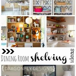 Dining Room Shelving Ideas