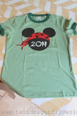 Disneyland T-shirt Giveaway