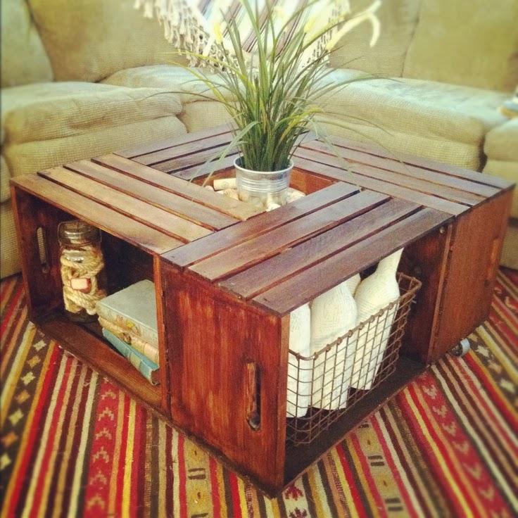 DIY Coffee Table Ideas