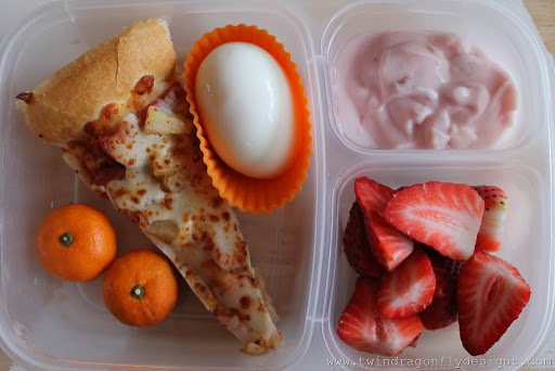 Leftover Pizza Bento