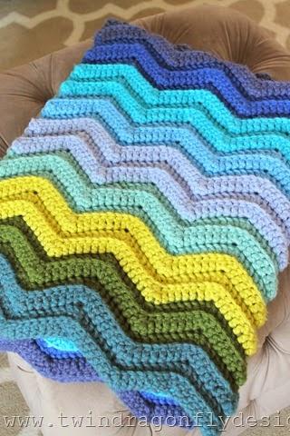 Seafarer Crochet Blanket (1)